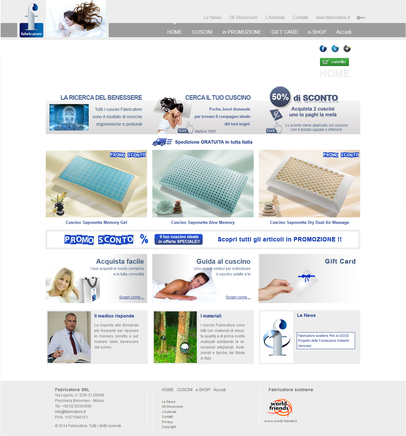 Fabricatore Cuscini.Web E Multimedia Totti Totti