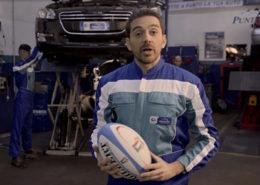 Puntopro Autofficine Spot TV sponsor nazionale rugby